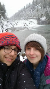 Couple looking for room in Banff