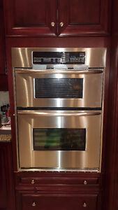 builtin stove microwave