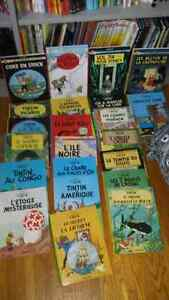 Collection bande dessinee tintin complete