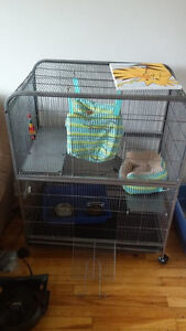Large 4 foot tall ferret cage
