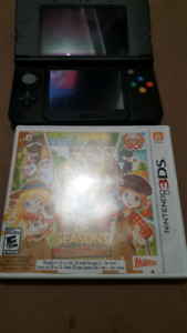 selling a new 3ds with charger and a 2gb sd card