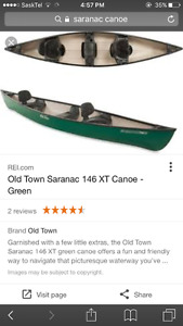 Looking for a canoe in good condition, under 500$