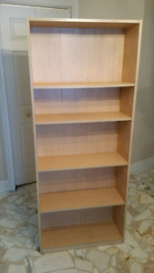 """2 bookcases h 68"""", × w 30"""" excellent condition"""