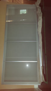 PAIR  ALMOST NEW IKEA PAX WARDROBE SLIDING DOORS