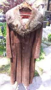 Vintage Suade Coat