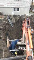Excavation est pavi unis, MTL, Rive Sud