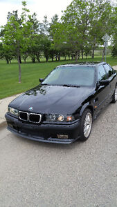 Black 1997 BMW 3-Series 318i Sedan