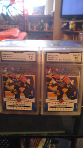 Selling my 2 Graded Dylan Strome rookie cards