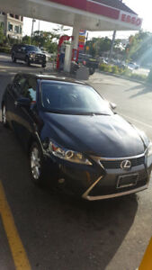 2014 Lexus CT 200h Hybrid (5.1L for 100km)
