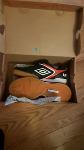 New indoor soccer shoes