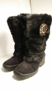 NIS - botte FOURRURE - made in Italy (NEW)  - women size  5 / 35