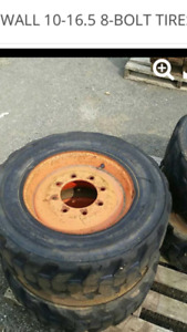 Bobcat tires 8 bolt