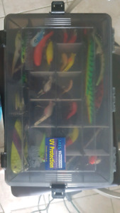 Fishing box with lures for sale