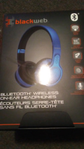 New BlackWeb Bluetooth Headphones