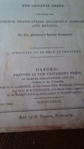 Bible: New Testament of our Lord and Saviour Jesus Christ, 1839 Kitchener / Waterloo Kitchener Area image 3