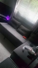FREE Grey corner sofa bed