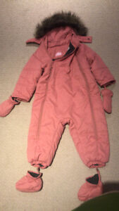 24-30 month toddler winter overall