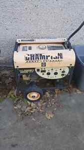 Champion 3500 watt gas generator