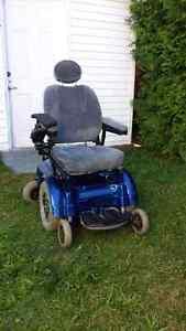 Chaise roulante avec stick