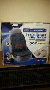Auto Trends Massage and Heat Chair Cushion