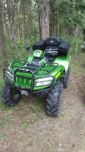 2010 arctic cat 1000 xt mud pro trade for side by side