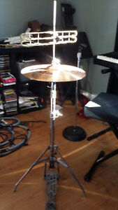 Vintage Rogers HiHatt stand with Sabian B8 14""