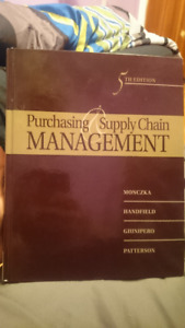 Purchasing and supply management buy or sell books in ontario purchasing supply management book 5th edition brand new fandeluxe Gallery