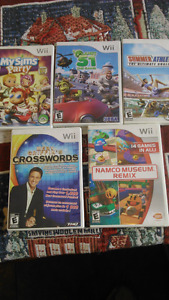5 wii games/summer athletics/crosswords/mysimspartyplanet51