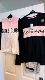 Girls, new, tagged clothing