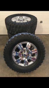 Ford F-150 tires and rims
