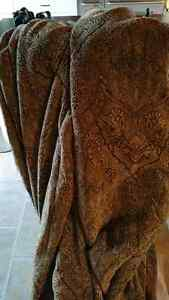 Custom Tapestry drapes