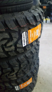 NEW LT33X12.5R20 MAZZINI MUD TERRAIN TIRES E RATED