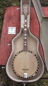 El Degas 5 string banjo