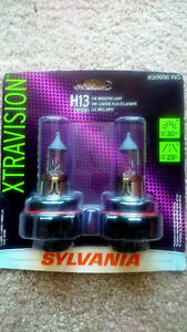 Brand New in a Package Sylvania Xtravision H13 2 Headlight Bulbs