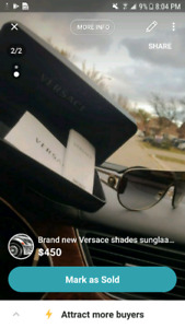 VERSACE GLASSES SHADES BRAND NEW