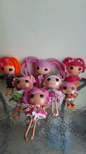 Lalaloopsy dolls. different to choose from.