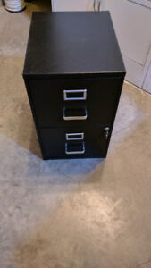 2 drawer locking file cabinet for sale