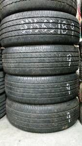 4 très bons pneus d'été 275 65 18 Michelin ltx