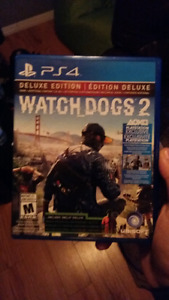 Watch dogs 2 et watch dog 1 25$