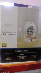 Mainstays Oscillating electric Fan heater