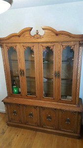 Beautiful China Cabinet, Dining tables with chairs