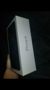 IPHONE 6 BRAND NEW SEALED