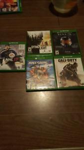 Jeux Xbox one a vendre