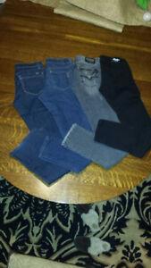 Jeans size 24 Earl, Jessica Simpson, blank skinny stretch never