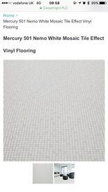 2.6m by 2m Vinyl Flooring Brand new