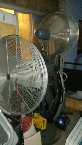 Industrial Oscillator fan