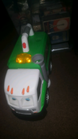 Mcdusty recycle truck toy
