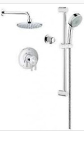 Grohe Thermostatic Shower System - Chrome