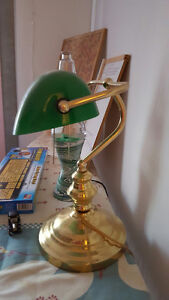 Green Bankers Lamp Edmonton Edmonton Area image 2