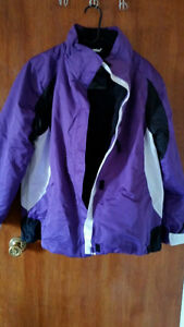 R&O women's purple winter 3 in 1 jacket size XL